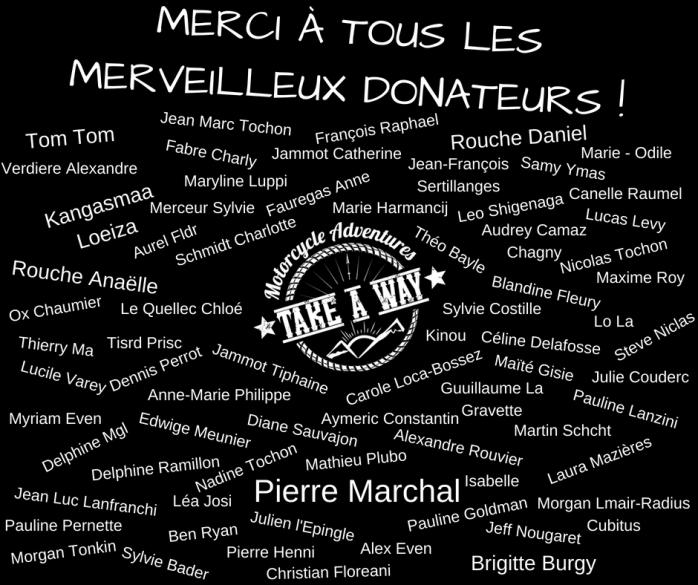 MERCI à tous les merveilleux donateurs ! (1)
